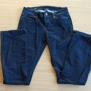 Ann Taylor dark wash modern fit jeans